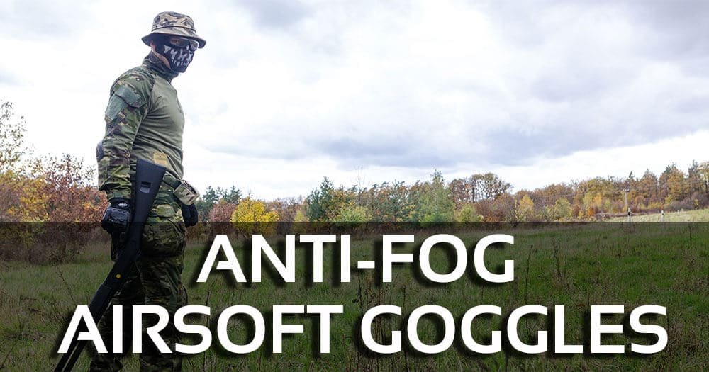 Anti-Fog Airsoft Goggles