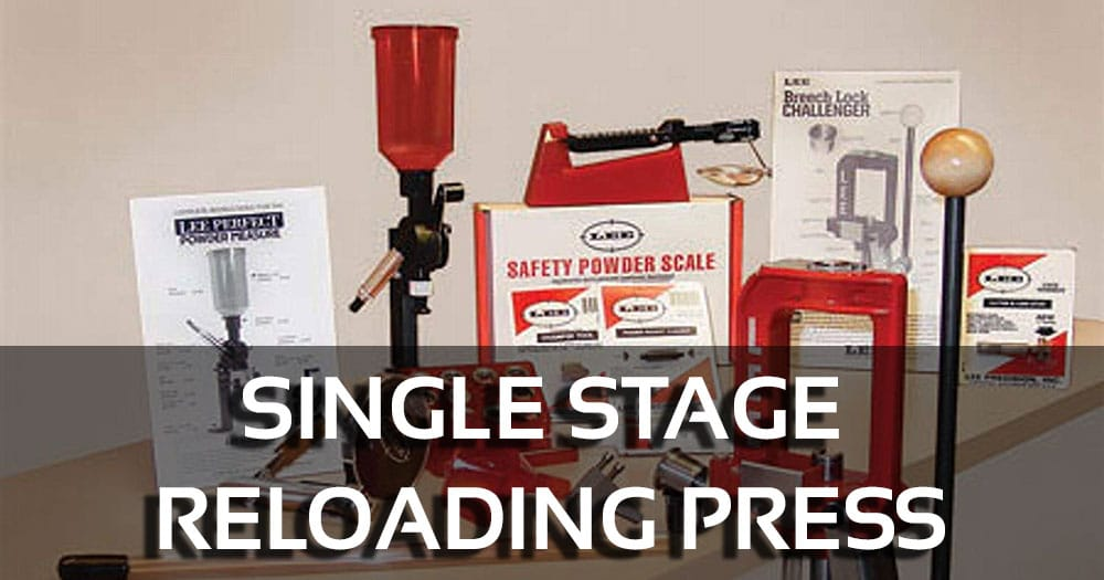 Single Stage Reloading Press