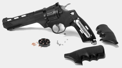 Crosman CCP8B2 Vigilante CO2 .177-Caliber Pellet and FFP BB Revolver