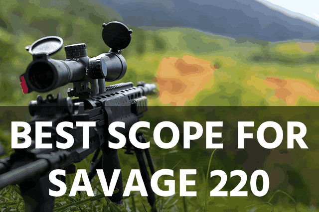Best Scope for the Savage 220