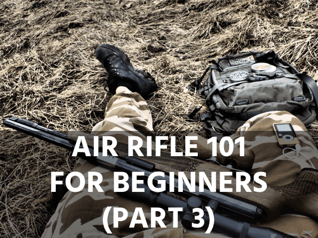 Air Rifle 101 for Beginners (Part 3)