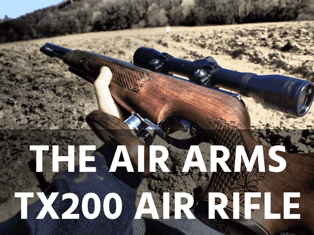 The Air Arms Tx200 Air Rifle